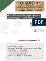 ApresentacMadeiras Portuguesas CIMAD11 JoseSantos 8Jun11