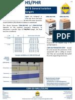 Ceiling PHR PHS Suspension Isolators