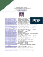 Ramakrishnarao Palagummi Astro Tutorials youtube urls Info