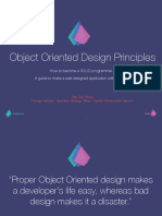 Object Oriented Design Principle