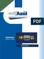 Manual operação computador PAT DS85