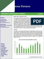 Capstone Corporate Training Report_Q2 2016