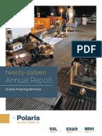 Polaris 2016 Annual Report