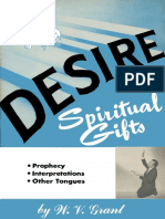 Desire Spiritual Gifts W v Grant
