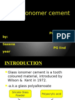 Glass Ionomer Ppt