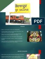 Solapur CDR Ppt