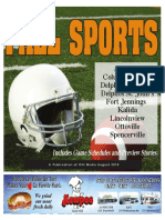 2016 Delphos Herald High School Fall Sports Preview