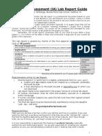 IB Lab Report Guide v20162