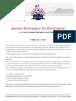 Sommet Economique Du Bicentenaire
