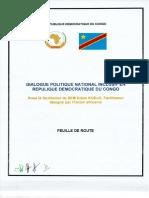 Feuille de route du dialogue politique national