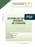 I-SG-21 Instructivo Elementos de Proteccion Personal