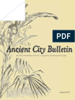 Ancient City Bulletin - Aug 2016