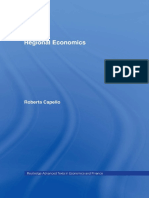 IntroductionBook Regional Economics Capello