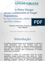 Democratic Policy Design, INGRAM et al