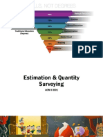 Quantity Estimation for Civil Construction Management