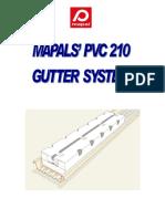 Pvc 210 Gutter System Manual