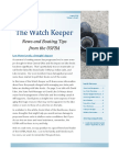 The Watch Keeper Volume 1 Issue 5