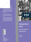 Measuring Health and Poverty (1)