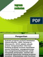 12 Evaluasiprogrampromosikesehatan 130627020409 Phpapp01