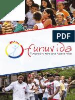 Brochure Funuvida, Fundación para una Nueva vida 2016