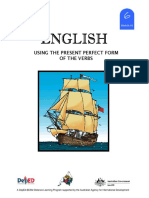 English 6 DLP 41 - Using the Present Perfect Form of Verbs