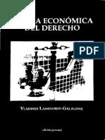 1- TeoríA EconóMica Del Derecho