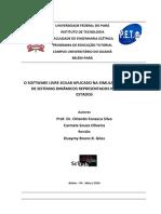 O SOFTWARE LIVRE SCILAB APLICADO NA SIMULAÇÃO E CONTROLE DE SISTEMAS DINÂMICOS REPRESENTADOS NO ESPAÇO DE ESTADOS.pdf
