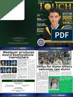 Wesleyan in Touch Alumni Newsletter