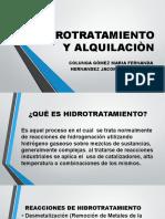 Hidrotratamiento y Alquilaciòn Real