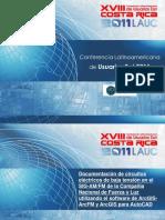 Documentacion de Circuitos Electricos de Baja Tension en El SIG-AMFM de CNFL Utilizando ArcGIS-ArcFM y ArcGIS Para AutoCAD