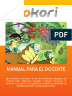 Kokori, Manual Docente.