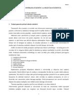Tema Selectia Statistica Sau Sondajul Statistic