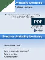 Evergreen Availability Monitoring