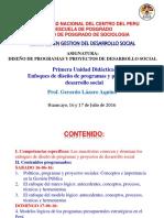 DPyPDS I Unidad Didactica