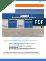 Groupe Electrogene UNICA