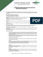 Terminos de Referencia-señalizacion Vertical
