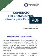 Comercio Internacional Pasos Para Exportar