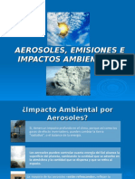 Agentes contaminantes atmosfericos