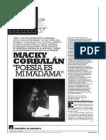 MACKY CORBALAN Poesia Es Mi Madama