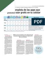 Lista Completa de Las Apps Que Puedes Usar Gratis en Tu Celular - Www.lun