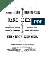 Czerny Germer Selected Studies