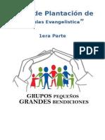 Taller de Plantación de Células Evangelistica (1era Parte)
