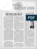 Cook County Highway News 1970 - 1976