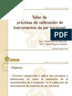 Curso-Taller de Prácticas de Calibración de Instrumentos de PT