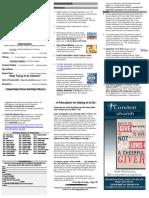 sep 3 2016 bulletin