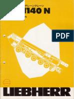crane liebherr LTM1140N