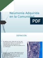 Neumona Adquirida en La Comunidad