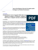 ARGUMENT - Business Records