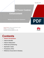 RAN16.0 HSUPA Power Control Enhancement