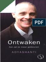 Adyashanti - Ontwaken, Het Zal Je Maar Gebeuren